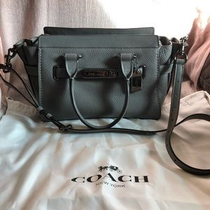 """❌SOLD❌ Coach """"swagger"""" bag"""